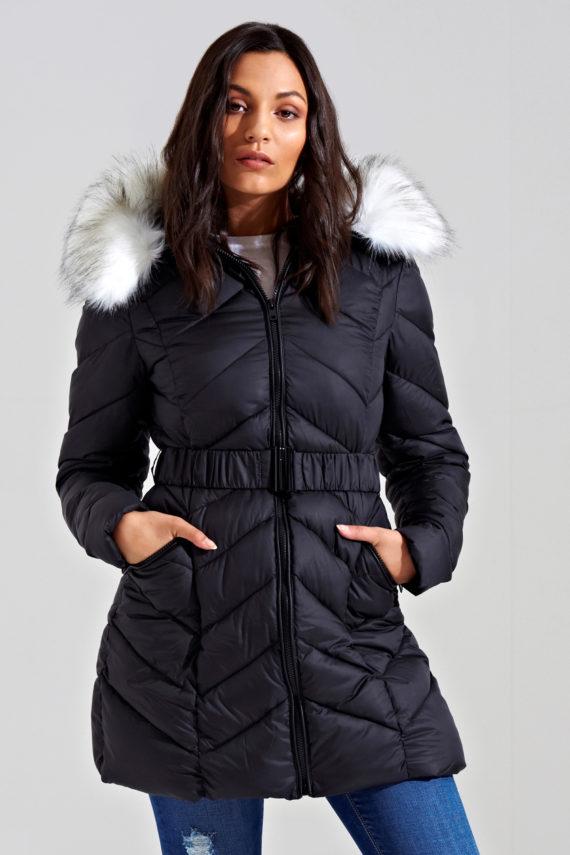 Urban Bliss Longline Padded Jacket