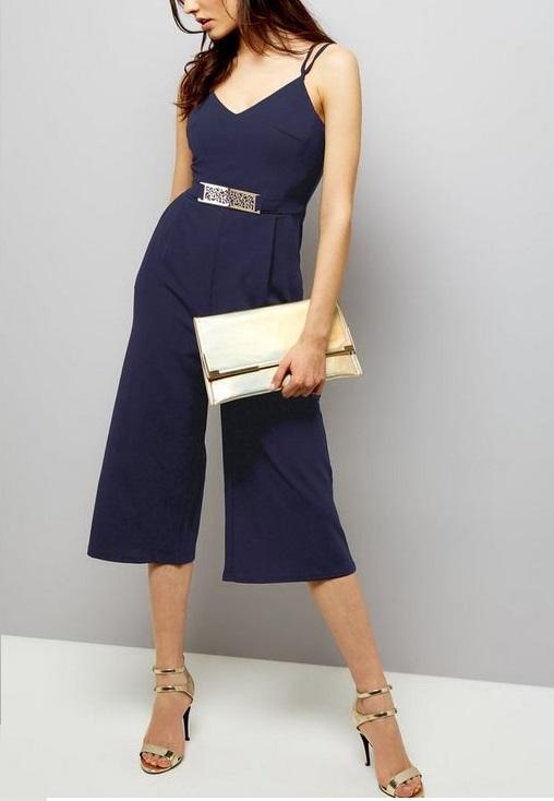 f9c4b55ebf7 Pükskostüüm paeltega Sinine — Laiv Fashion